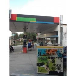 la station de petrole